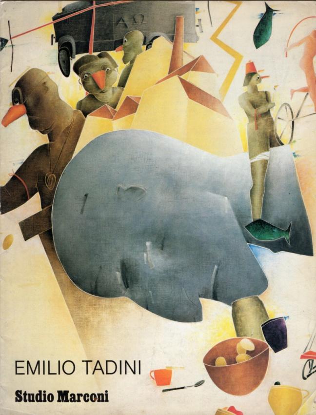 Emilio Tadini, mostra Fondazione Marconi
