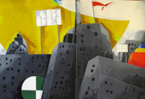 Aeroporto Malpensa: autori illustri in mostra nella sala Pergolesi del Club Sea a cura di Spazio Tadini