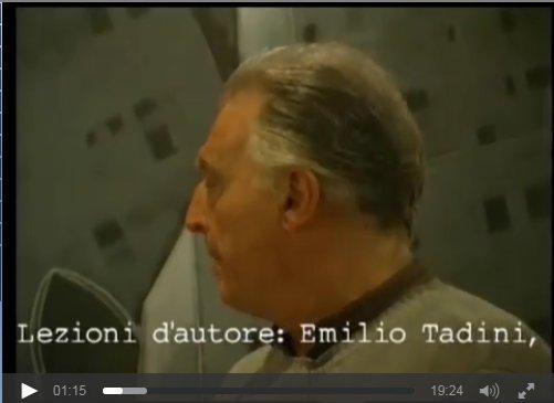 Uninettuno Tv- Emilio Tadini parla della sua mostra a Palazzo Reale